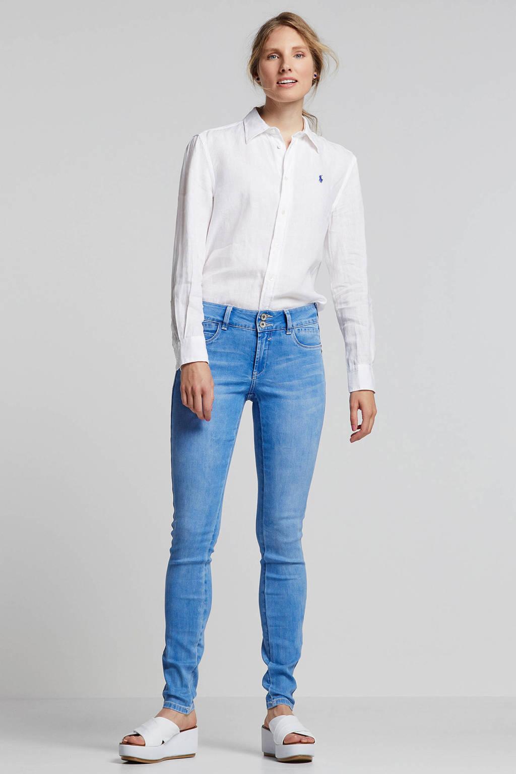 Geisha skinny jeans blauw, Blauw