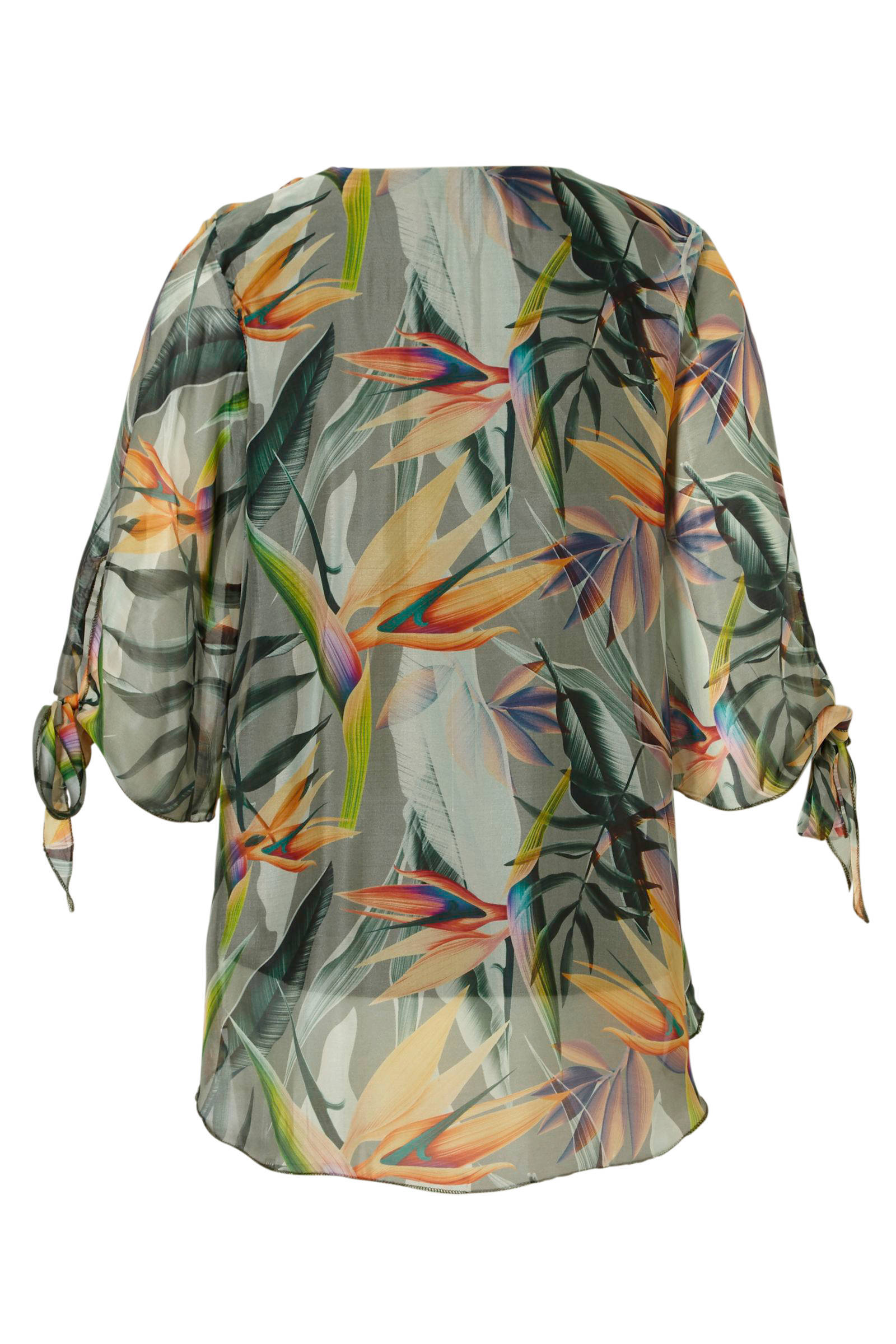 over met blouse Geisha print all tHzzwq