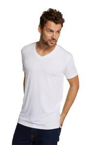 Bamboo Basics T-shirt Velo met bamboe (set van 2) wit, Wit