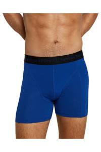 Bamboo Basics boxershort Rico met bamboe (set van 3), Blauw/donkerblauw/zwart