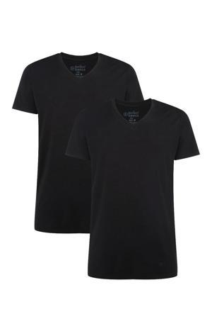 T-shirt Velo met bamboe (set van 2) zwart
