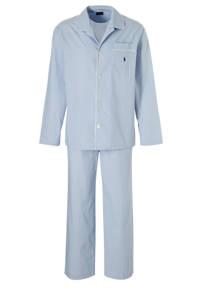 POLO Ralph Lauren geruite pyjama lichtblauw/wit, Lichtblauw/wit