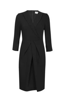 Promiss jurk getailleerd zwart