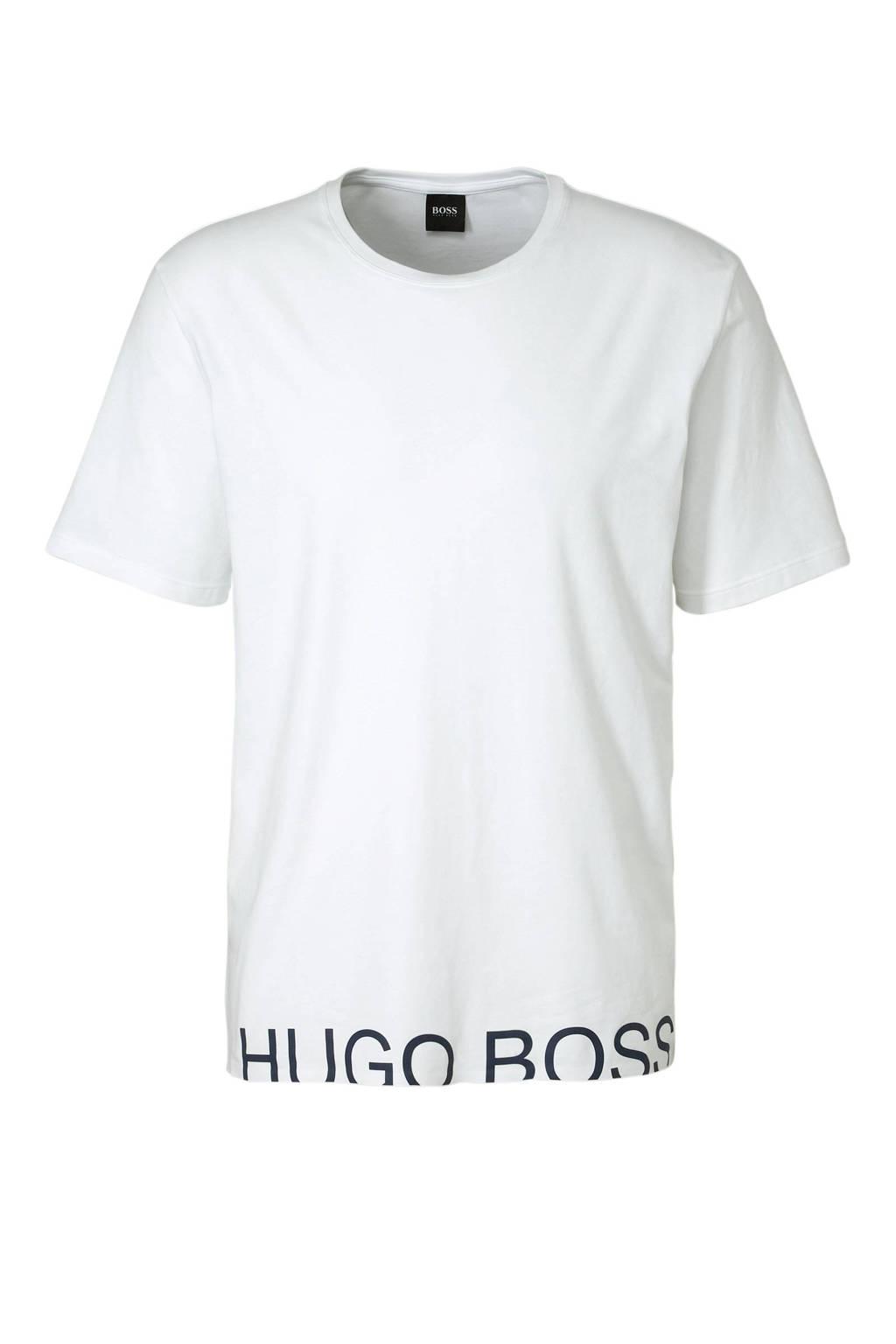 Boss T-shirt wit, Wit