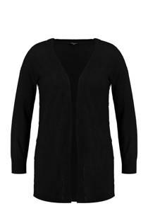 MS Mode vest met wol zwart (dames)