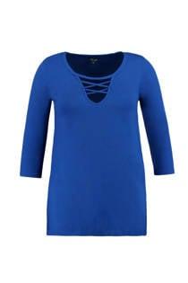 MS Mode top blauw (dames)