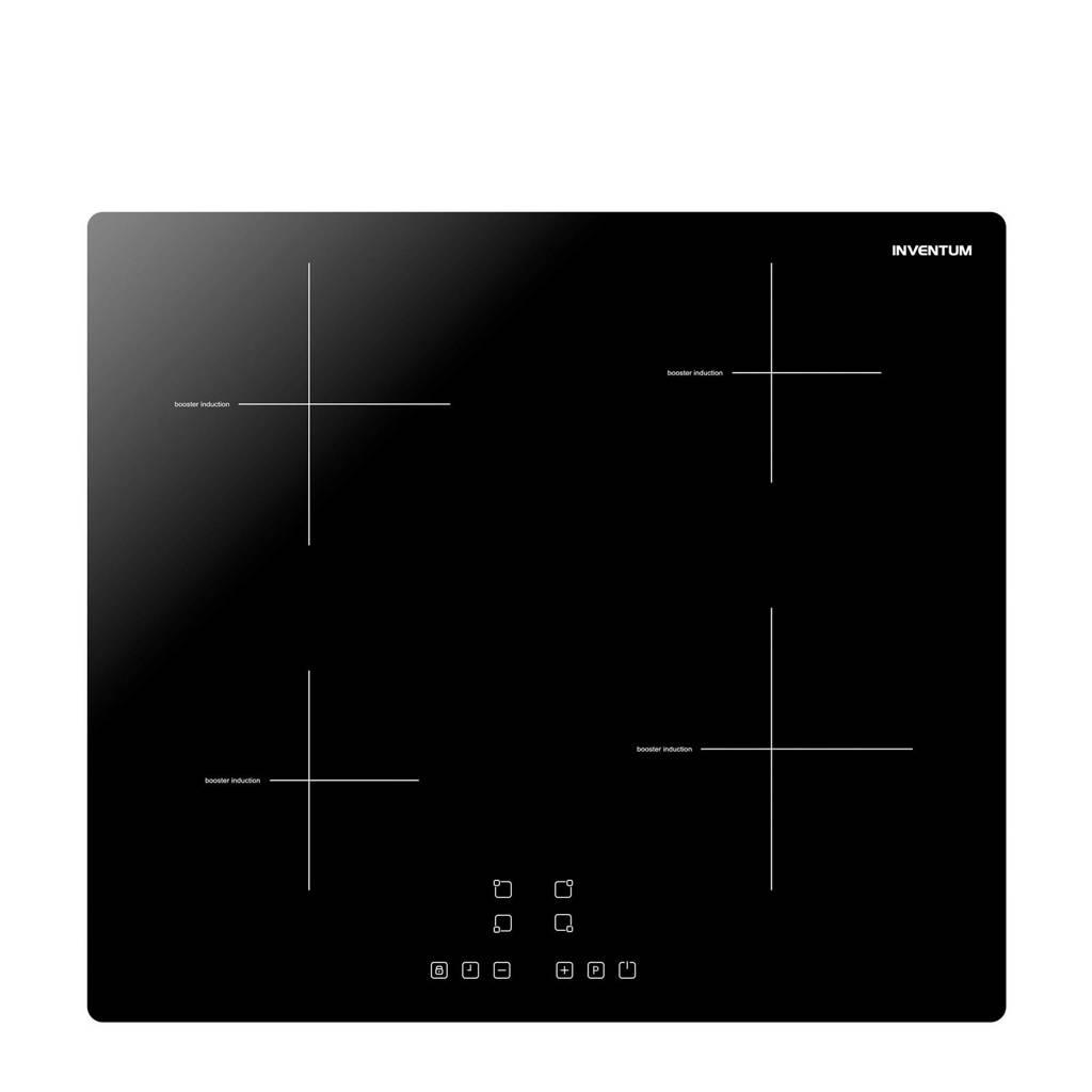 Inventum VKI6010ZWA vrijstaande inductiekookplaat, Zwart