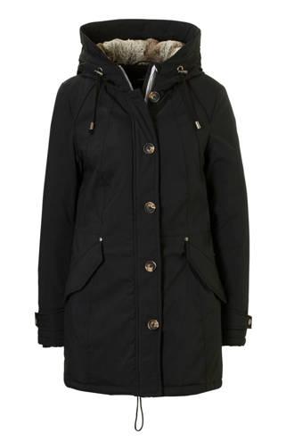 The Outerwear winterjas zwart