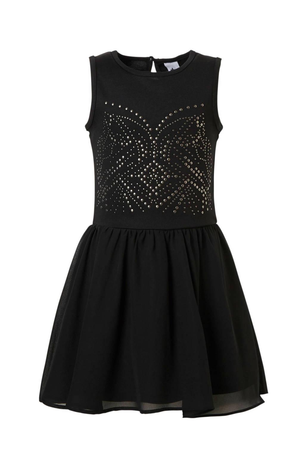 e9f50859ffec48 C A Here   There jurk met studs zwart