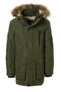 C&A Here & There parka groen (jongens)