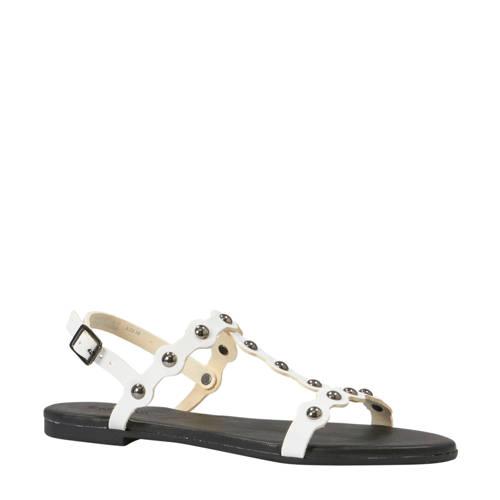 Bianco Bitt leren sandalen wit kopen
