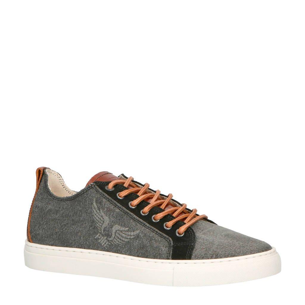 PME Legend Vulto sneakers grijs, Grijs/zwart/bruin
