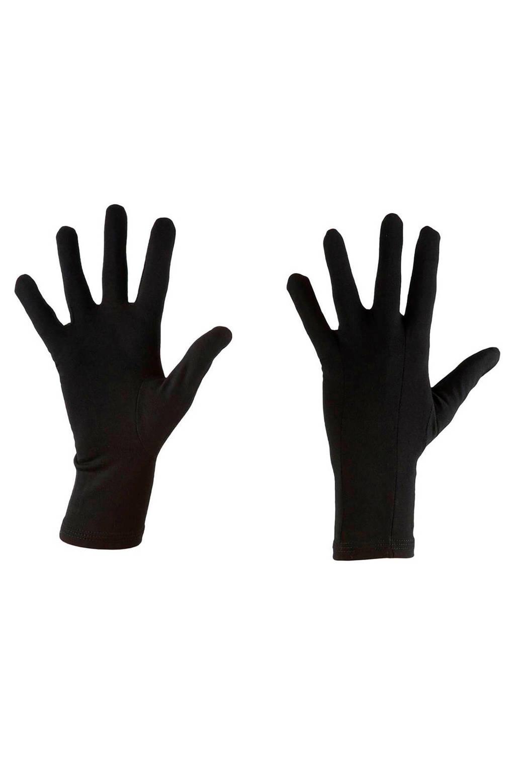 Icebreaker   unisex sporthandschoenen Oasis merinowol, Black