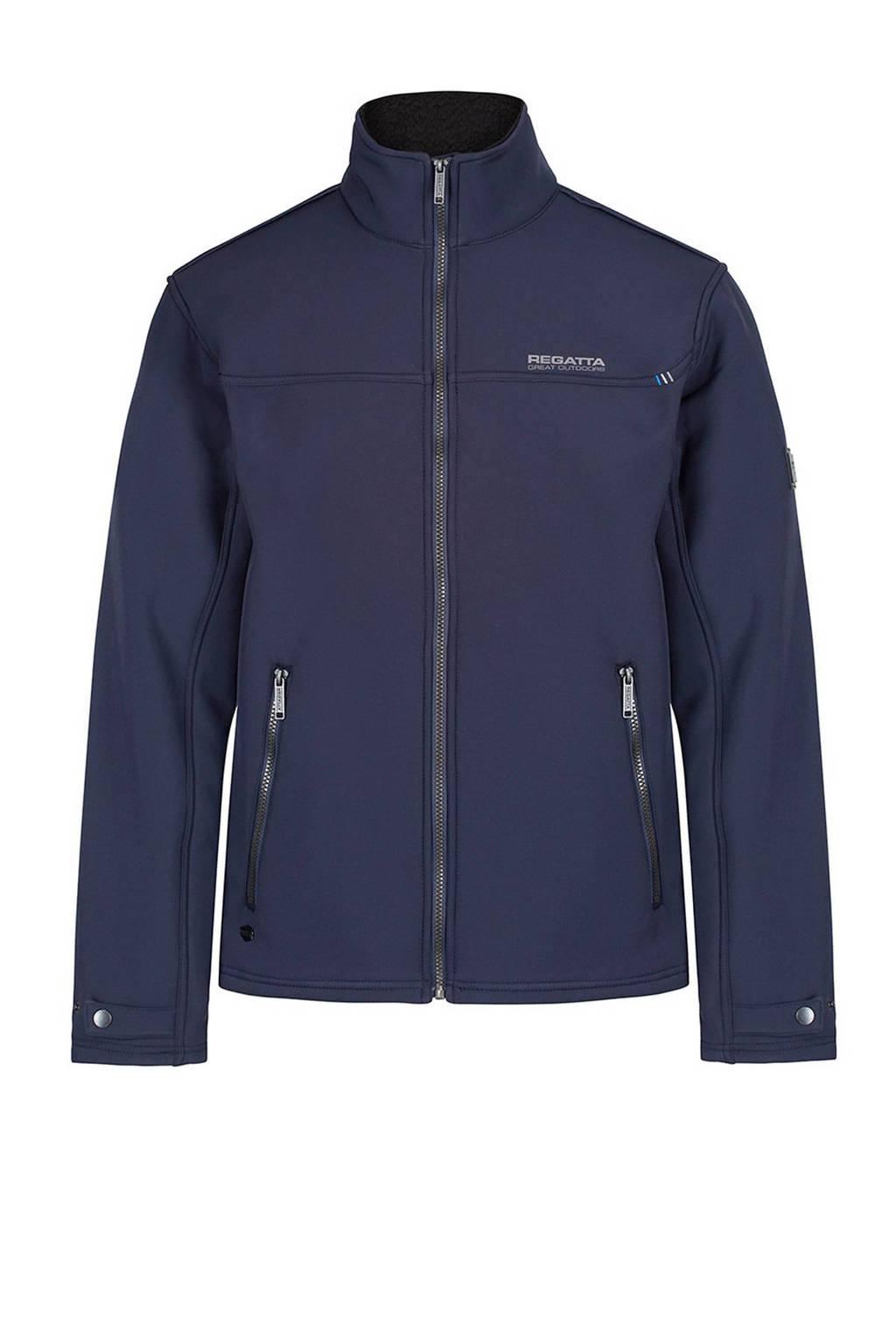 Regatta softshell vest blauw, Navy