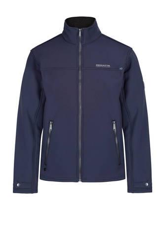 softshell vest blauw