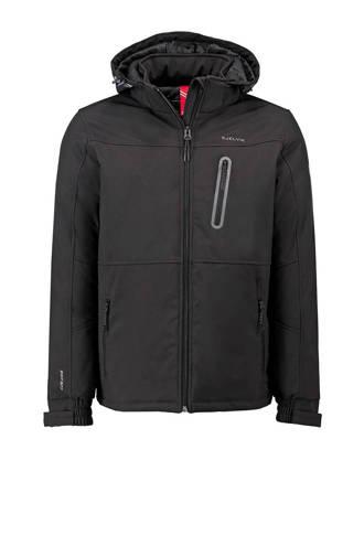 softshell jas Logan zwart