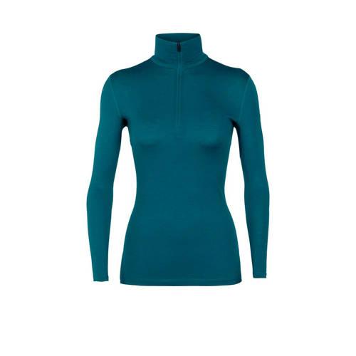 Icebreaker 200 sport T-shirt merinowol blauw
