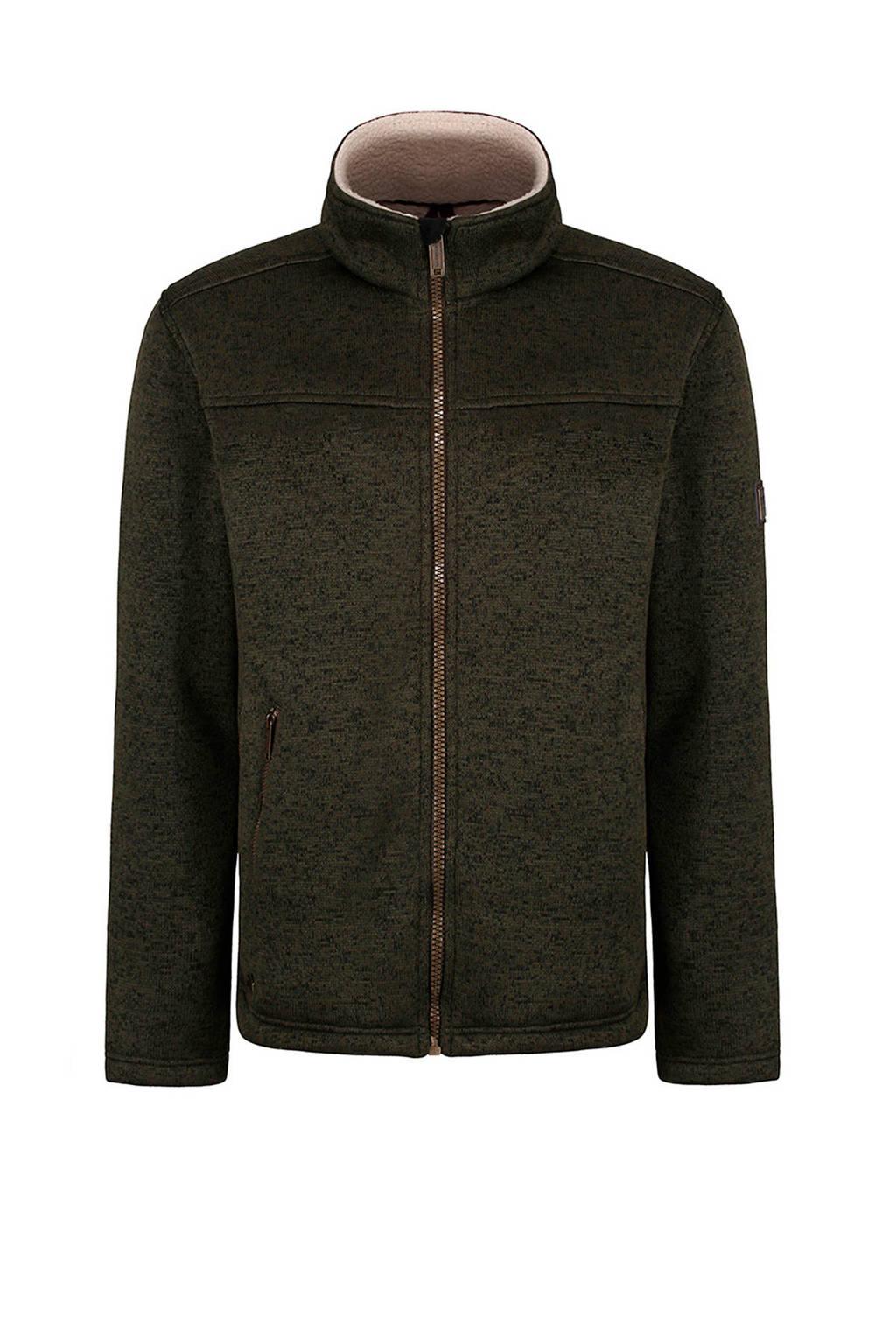 Regatta fleece vest Pagiel kaki, Dark khaki