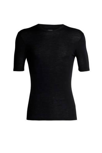 175 thermoshirt merinowol zwart