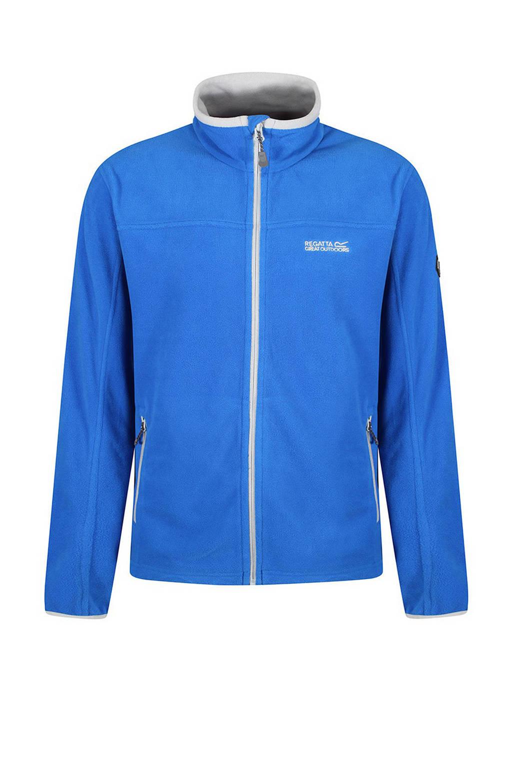 Regatta fleece jack Stanton II blauw, Oxford Blue/Light Steel