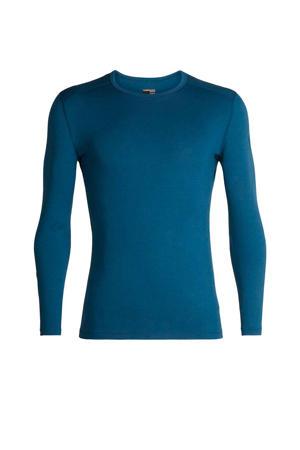 260 T-shirt merino blauw