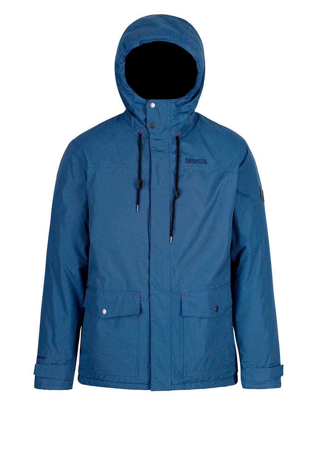 Regatta outdoor jas Syrus blauw, Dark denim