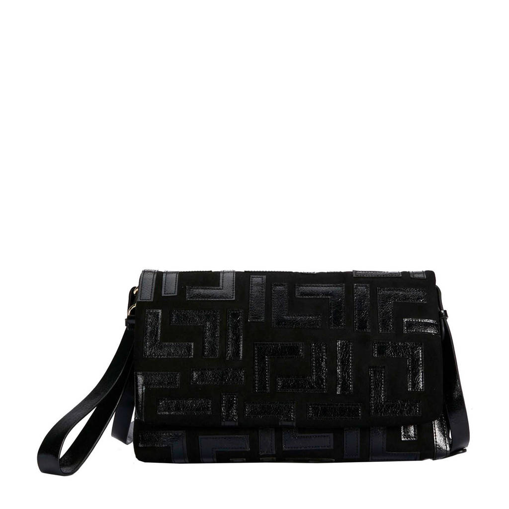 Parfois   enveloppe tas zwart, Zwart