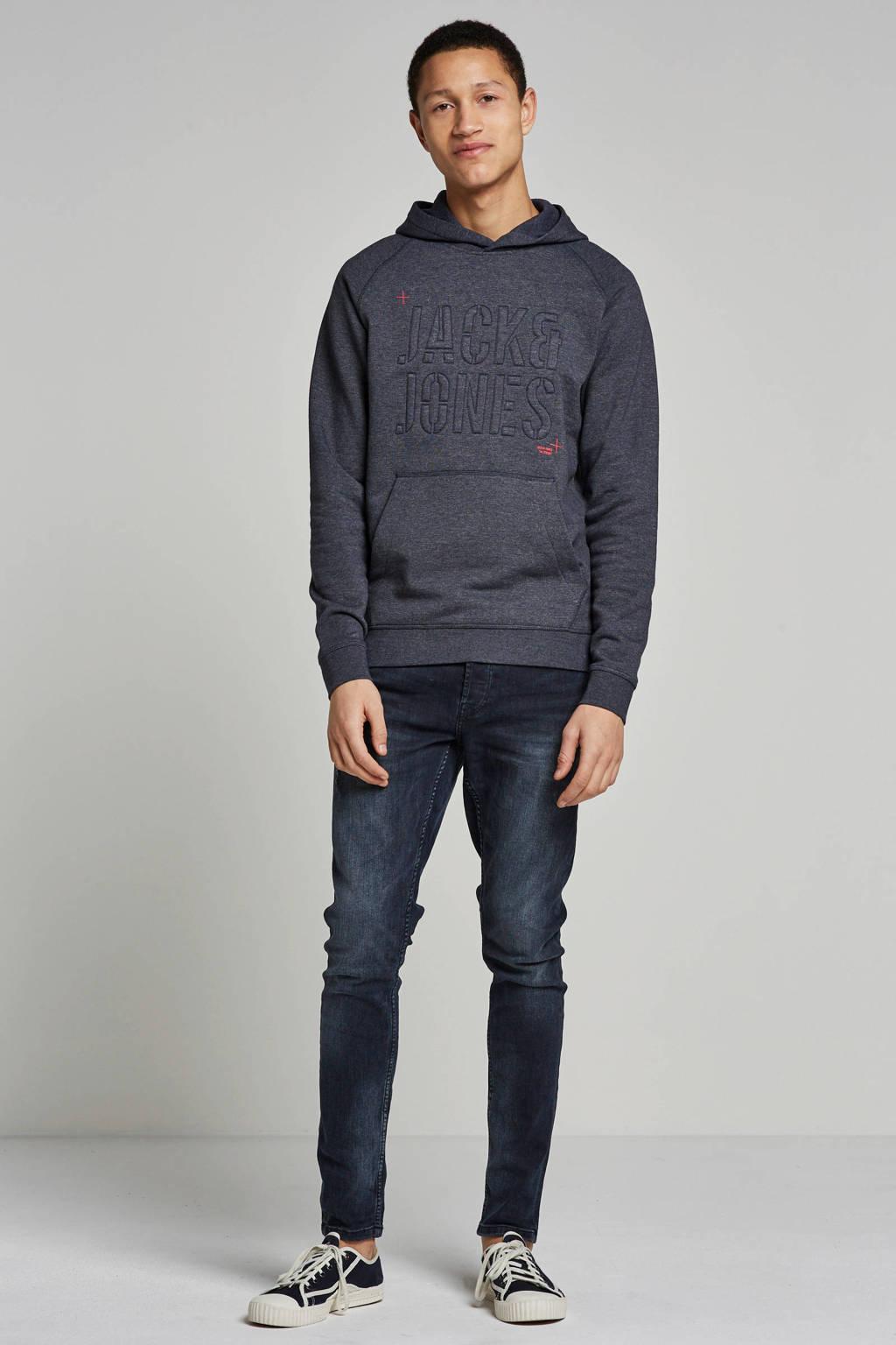 Jack & Jones Core hoodie, Donkergrijs
