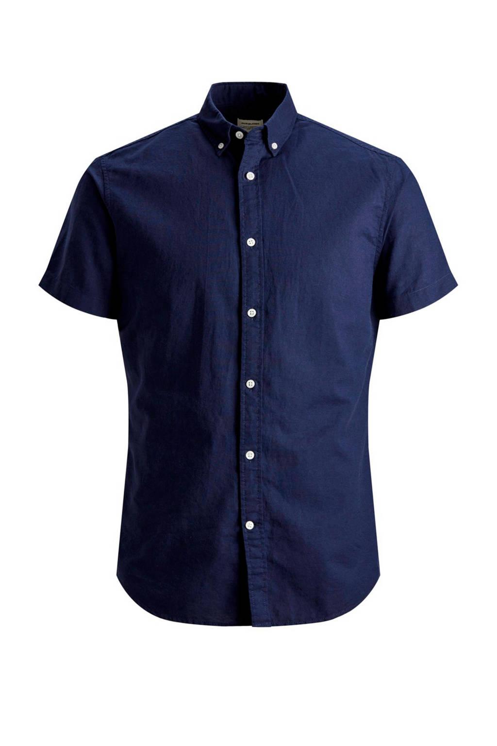 Jack & Jones Essentials overhemd, Donkerblauw