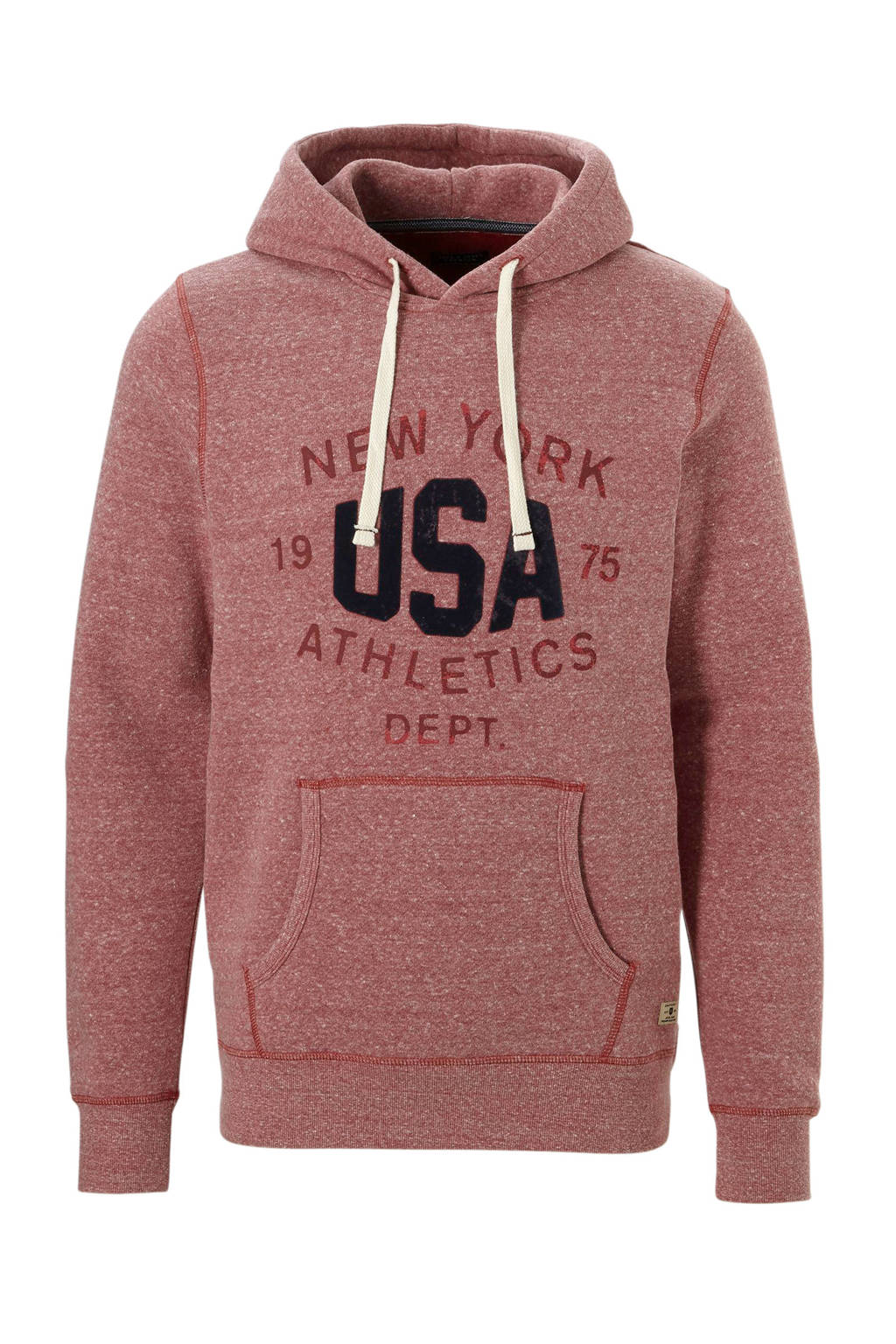 Jack & Jones Premium hoodie, Roze/rood