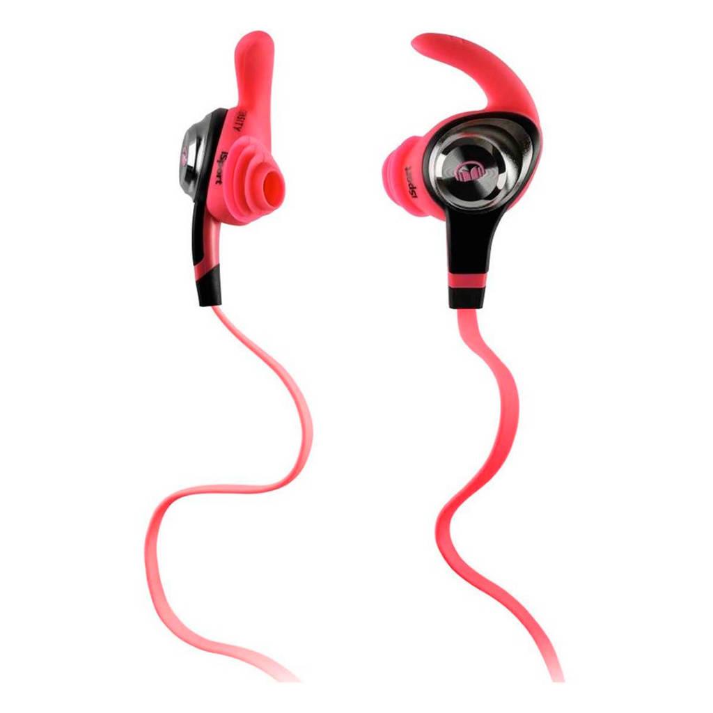 Monster ISPRTIPNK Bluetooth oortjes, Roze