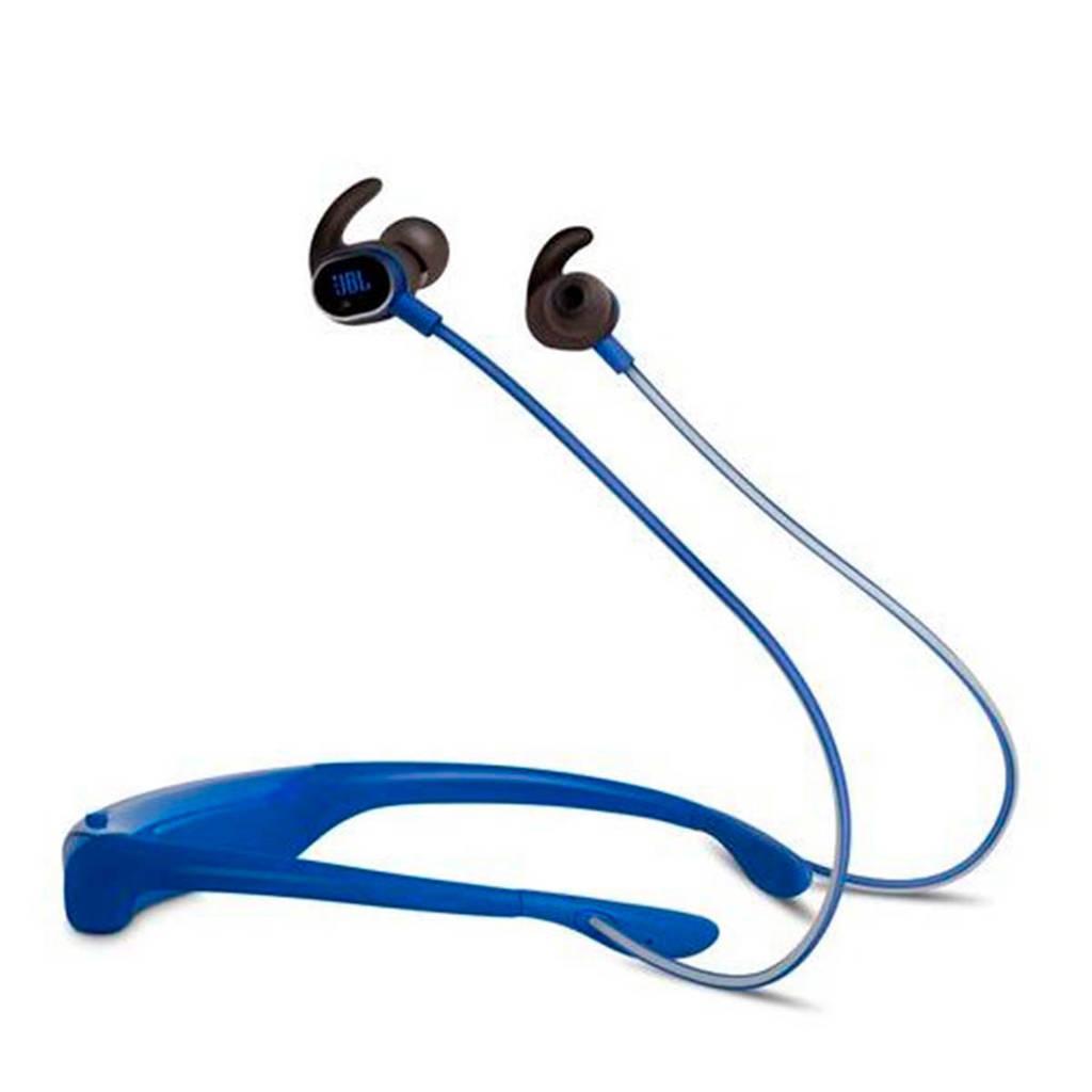 JBL in-ear bluetooth sport koptelefoon Reflect Response blauw, Blauw
