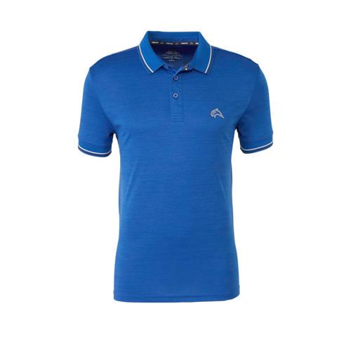 Falcon sportpolo blauw