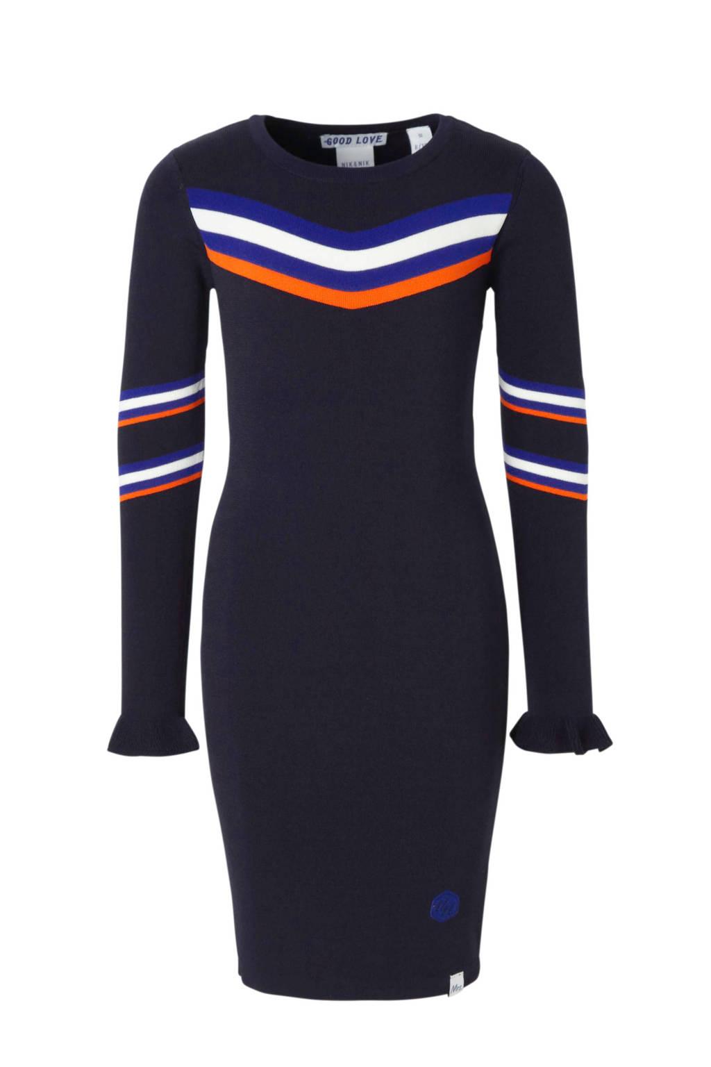 NIK&NIK jurk Joshy Jolie donkerblauw, Donkerblauw
