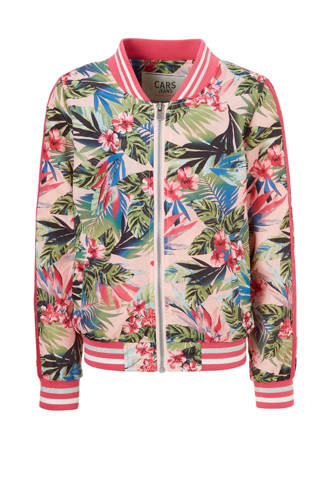gebloemde zomerjas Myrlie roze