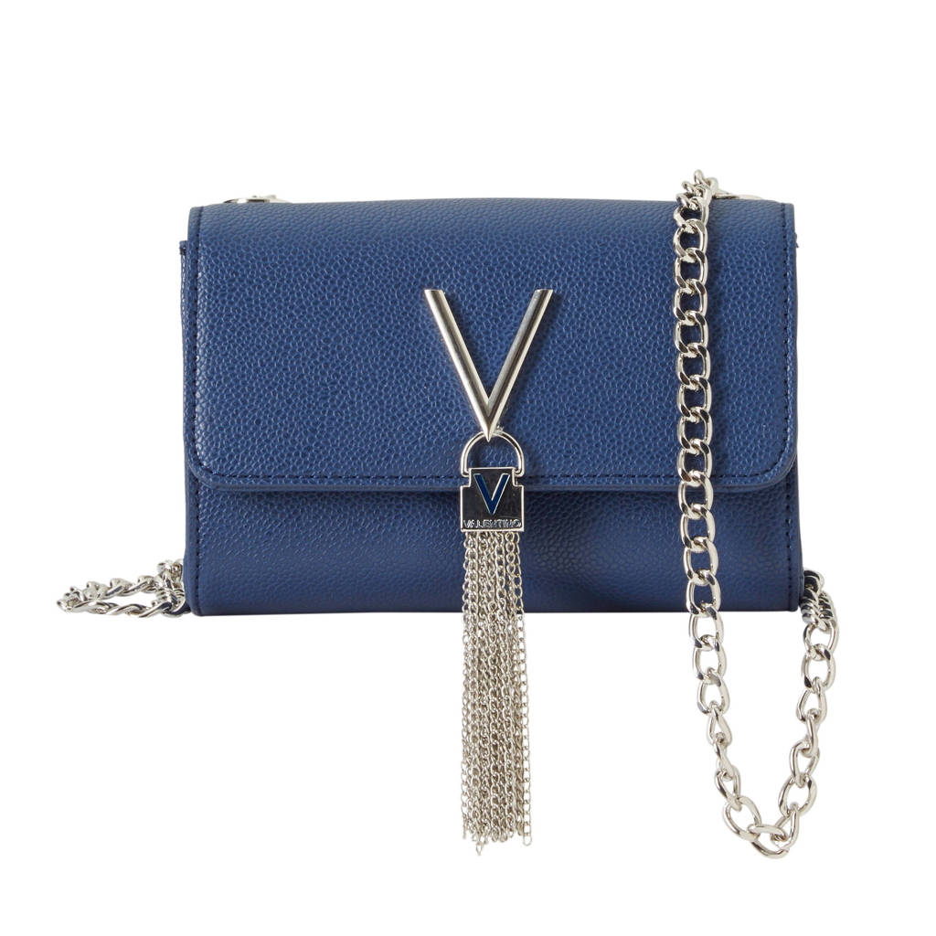 Valentino  Divina schoudertas Blu, Blauw