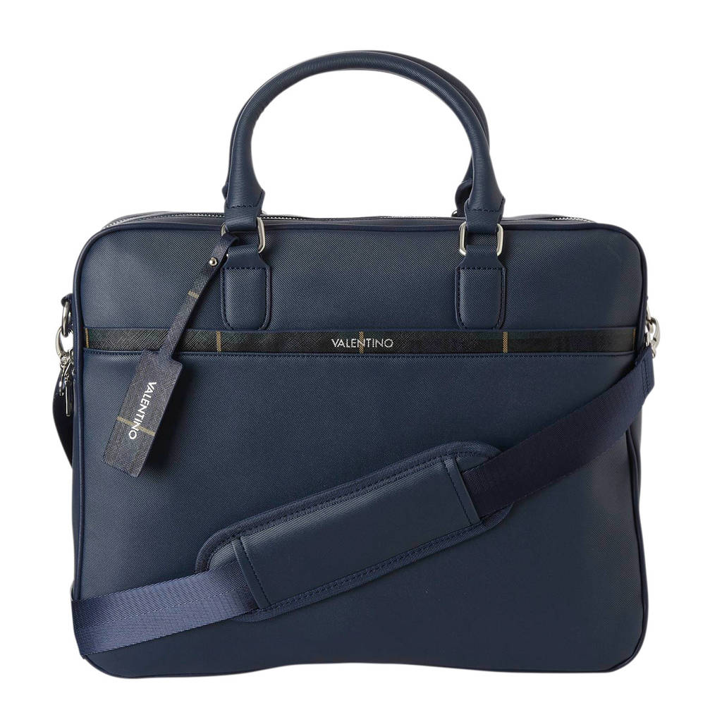 Valentino CODE  laptoptas Code Blu, Blauw