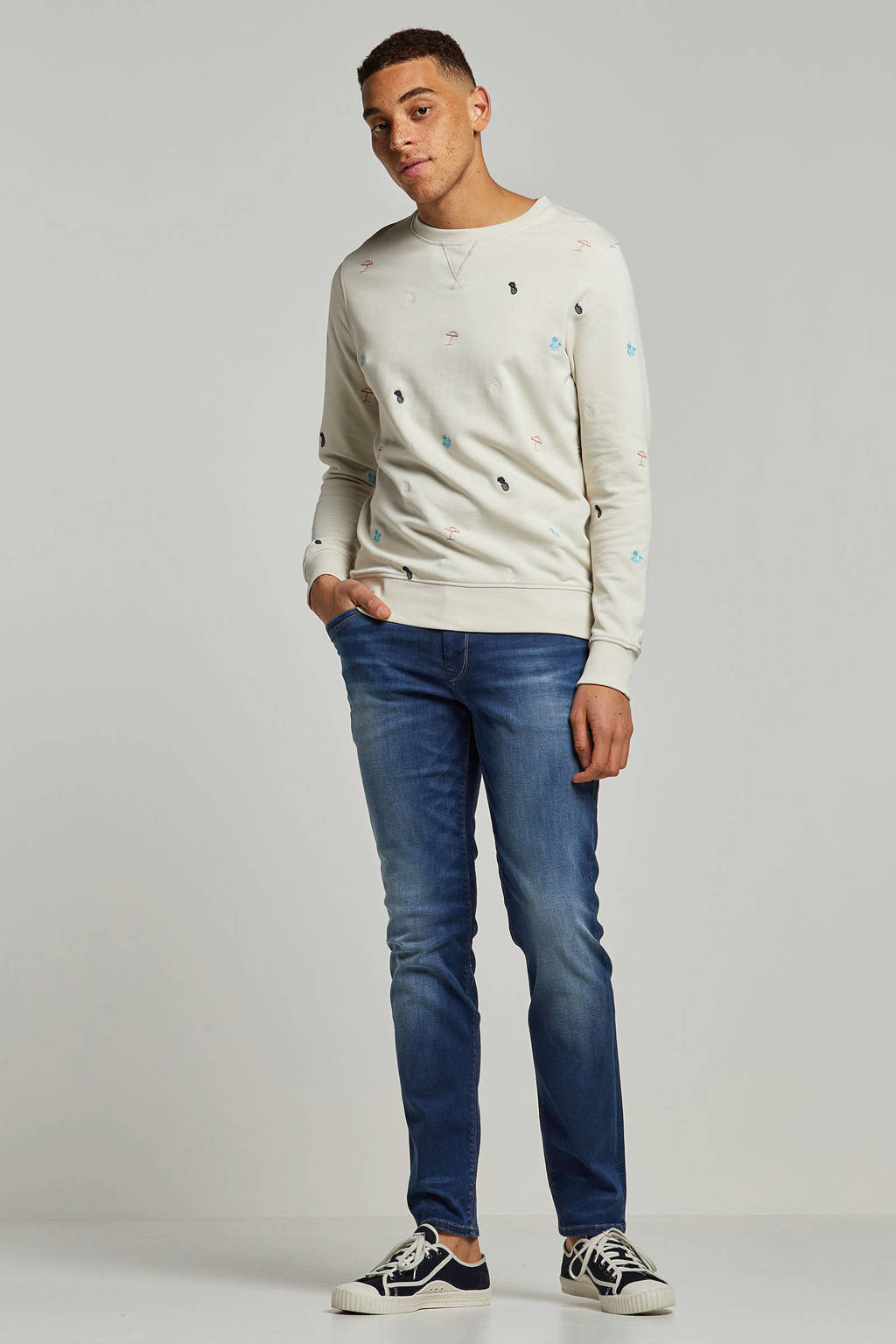 Vanguard slim fit jeans, Lichtblauw