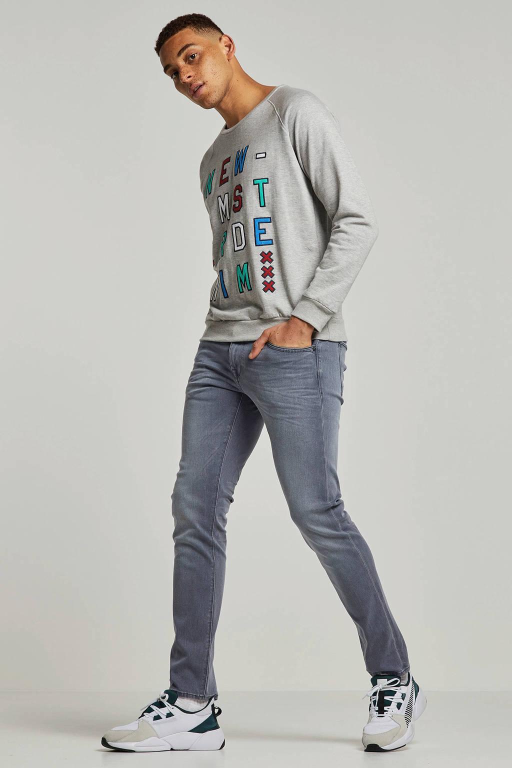 Vanguard slim fit jeans V850 Rider, Grijs