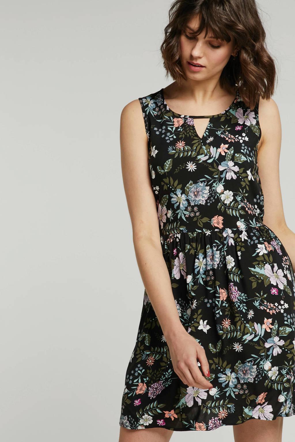 ae77c4a4ba9f42 VERO MODA mouwloze jurk met bloemen