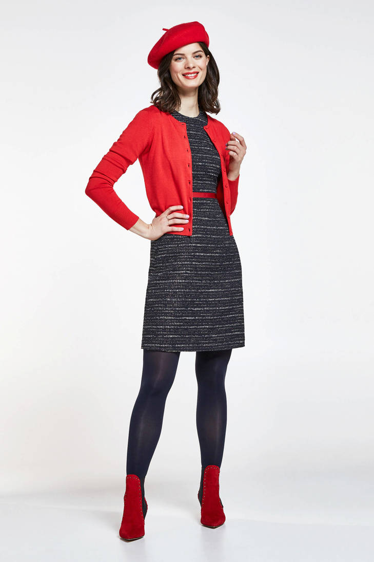 zwart tweed jurk tweed zwart jurk Steps Steps 1wqWWdpO