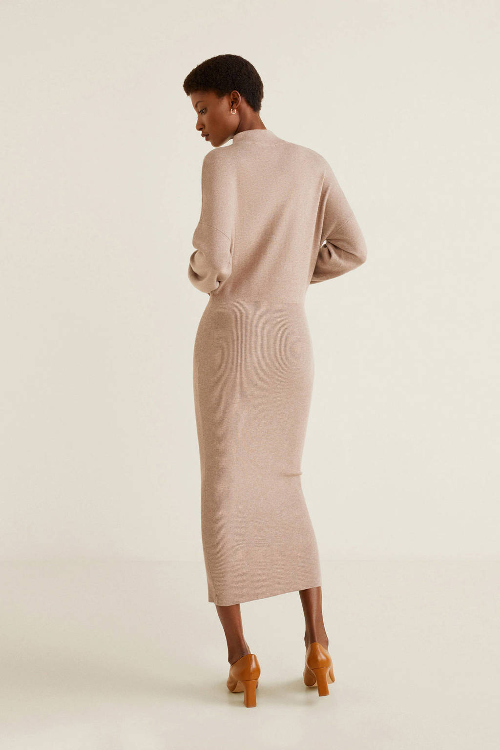 grote verscheidenheid aan stijlen details voor lage prijs Mango jurk pastel roze | wehkamp
