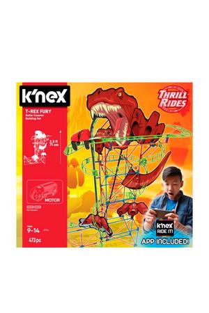 Thrill Rides Dino T-Rex Fury Roller Coaster K'nected - Bouwset