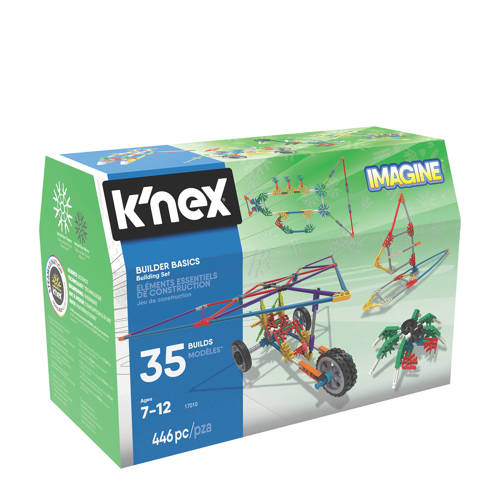 Knex Building Sets Builder Basics 35 Model Set-Refres