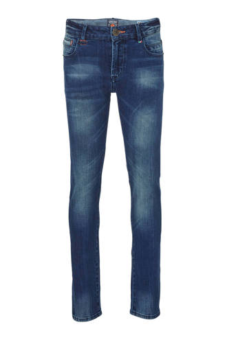 skinny fit jeans Arsenio donkerblauw