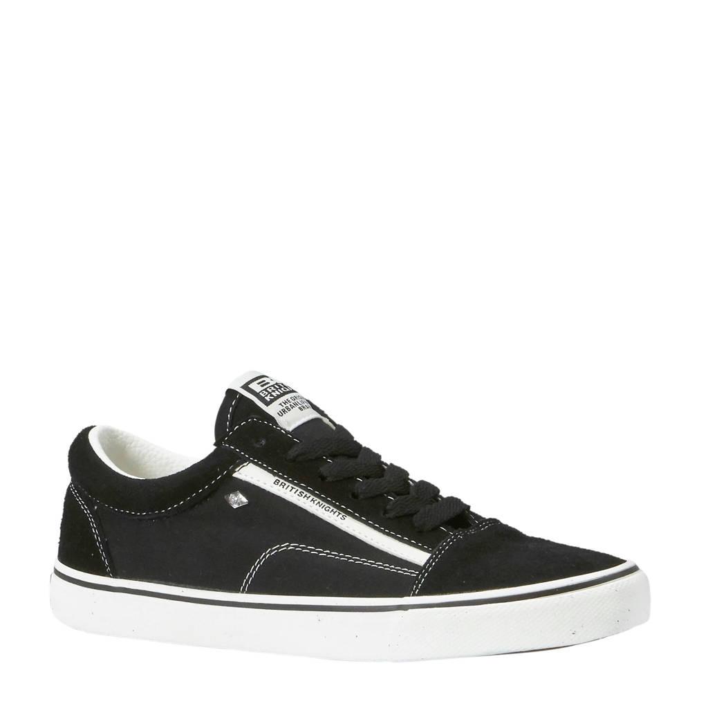 British Knights  Mack sneakers zwart/wit, Zwart/wit