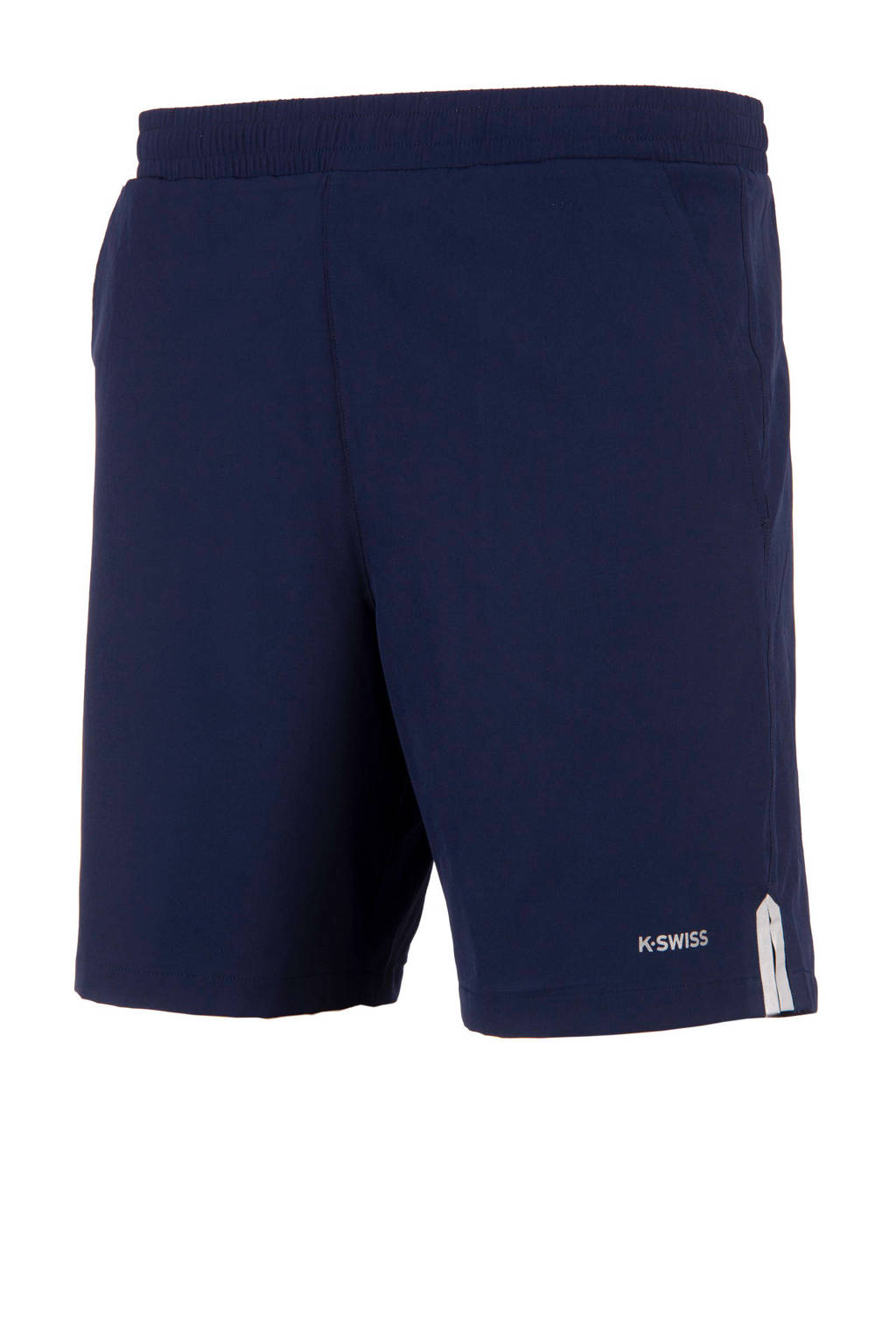 K-Swiss   sportshort donkerblauw, Donkerblauw