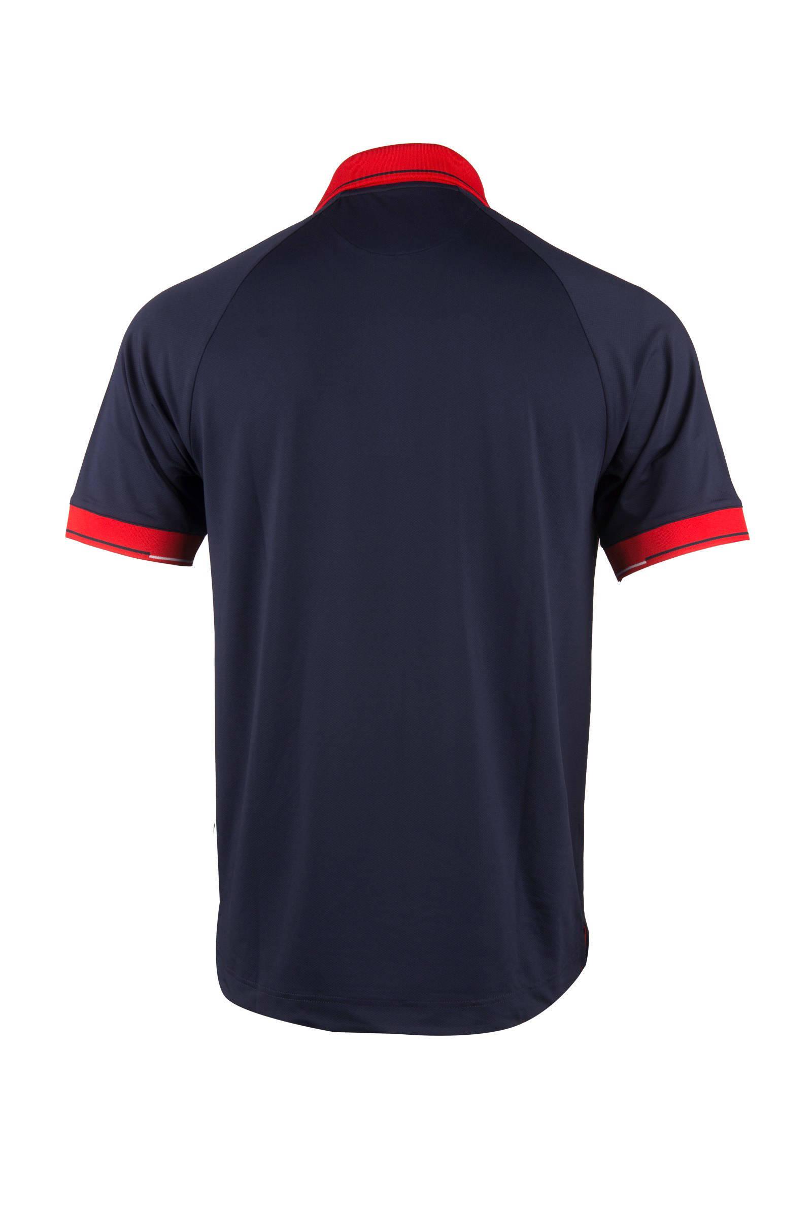 Swiss K sportpolo sportpolo K donkerblauw rood Swiss donkerblauw qBBwIPrTF