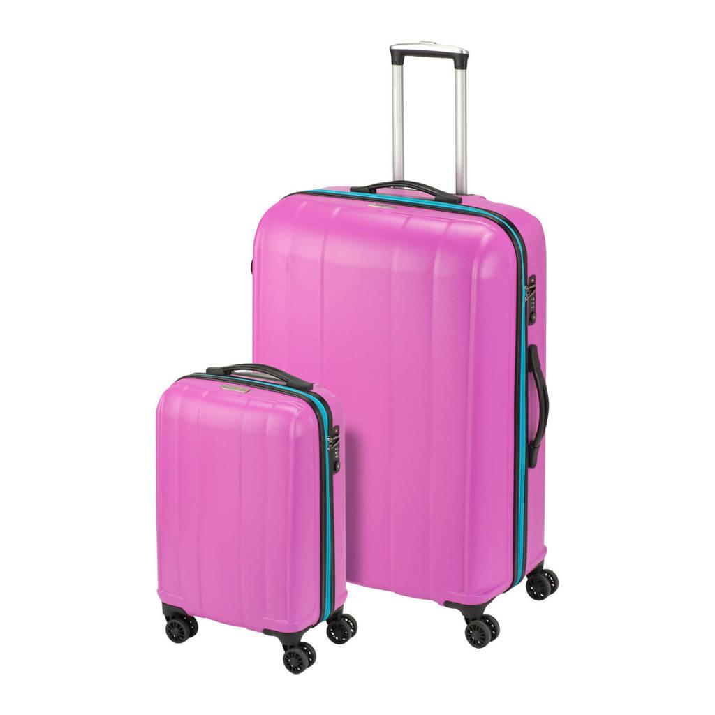 Princess Traveller Montreal (S + L) Kofferset (55 + 81 cm), Roze