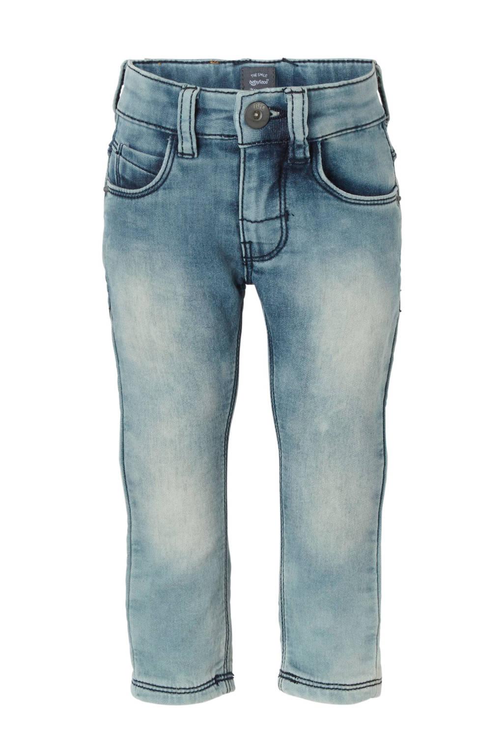 Babyface slim fit jeans, Light stonewashed